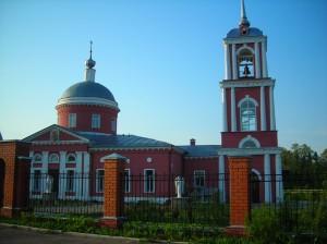 Георгиевский храм с. Алешино